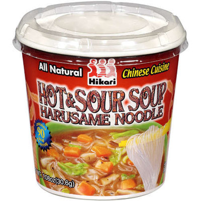 Hikari: Hot & Sour W/Harusame Soup W/Noodle, 1.08 oz