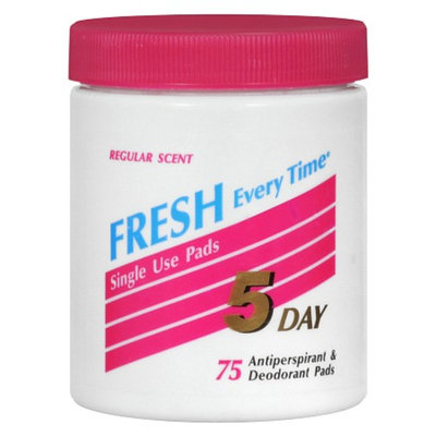 5 Day Antiperspirant & Deodorant Pads