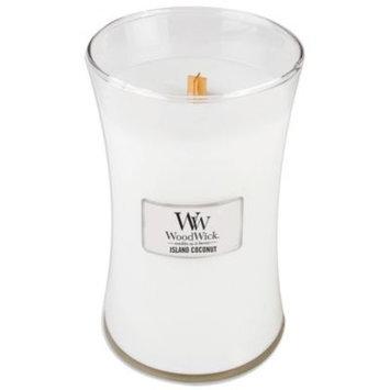 WoodWick Island Coconut 22-Ounce Jar Candle