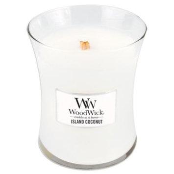 WoodWick Island Coconut 10-Ounce Jar Candle