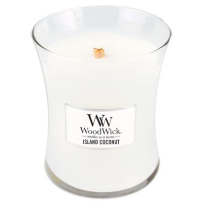 WoodWick Island Coconut 10-Ounce Jar Candle
