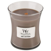 WoodWick Sand & Driftwood 10-Ounce Jar Candle