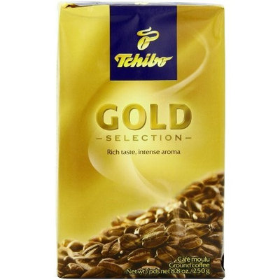Tchibo Coffee Tchibo Gold Selection, 8.8-Ounce Boxes (Pack of 4)