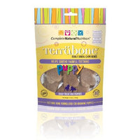 Complete Natural Nutrition Terrabone Puppy Edible Dental Chew Bones, 8.1-Ounce Packages (Pack of 2)