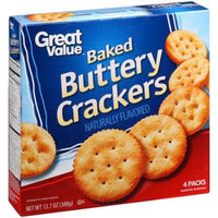 Great Value Baked Buttery Crackers, 13.7 oz
