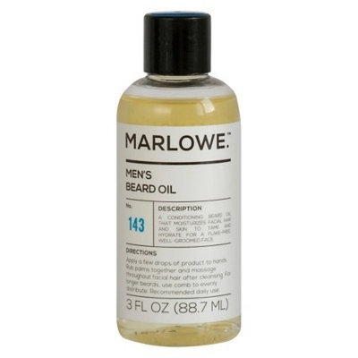 Marlowe. Marlowe No.143 Men's Beard Oil - 3 oz