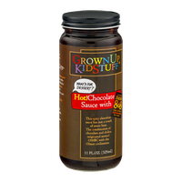 GrownUp KidStuff Hot! Chocolate Sauce with Bigfat's 808 Hot Sauce