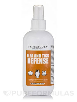 Dr. Mercola Natural Flea and Tick Defense Spray