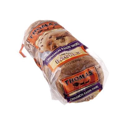 Thomas' Cinnamon Raisin Swirl Bagels - 6 CT