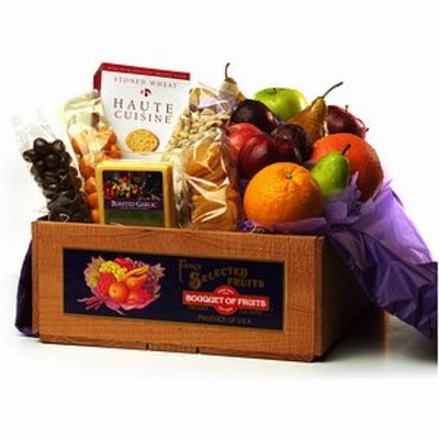 Bouquet of Fruits Gourmet Gift Fruit Crate