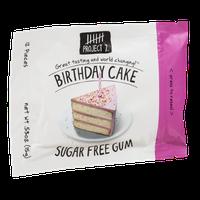 Project 7 Sugar Free Gum Birthday Cake - 12 CT