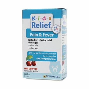 Homeolab USA Kids Relief Pain & Fever