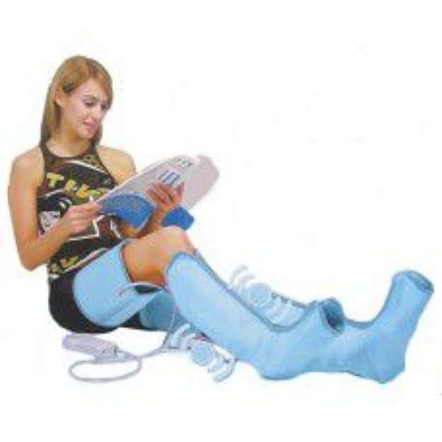 Beautyko Air-O-Sage Leg Massager Blue