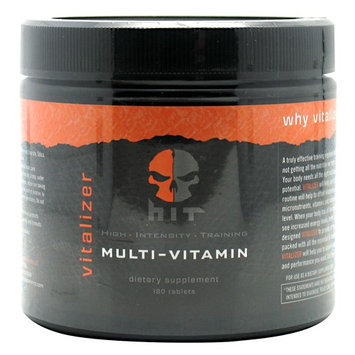 HIT SUPPLEMENTS Vitalizer Multi-Vitamin, 180 Tablets