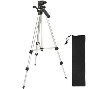 Vivitar HF-TR59 59 inch Photo / Video Tripod with Carrying Case