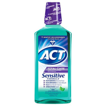 ACT Total Care Anticavity Fluoide Mouthwash Sensitive Formula