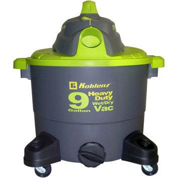 Koblenz 9 Gallon Heavy Duty Wet-Dry Vacuum Cleaner