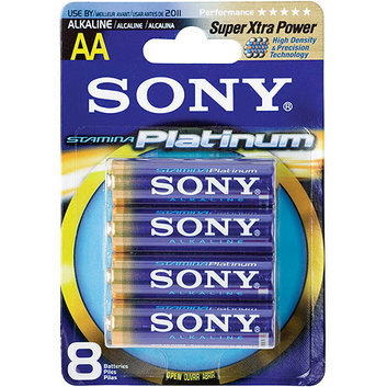 Sony AM3PTB8A AA Alkaline Batteries