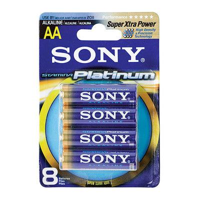 Sony AM3PTB8A AA Alkaline Batteries