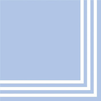 Spritz Lunch Napkins 2-ply Light Blue 20ct