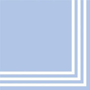 Spritz Lunch Napkins 2-ply Light Blue 20ct