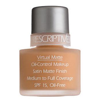 Prescriptives Virtual Matte Oil-Control Makeup Broad Spectrum SPF 15, Fresh Cream (01), 1 oz