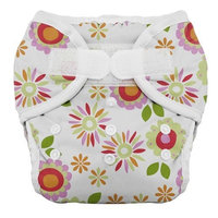 Thirsties Duo Diaper, Alice Brights, Size Two (18-40 lbs)