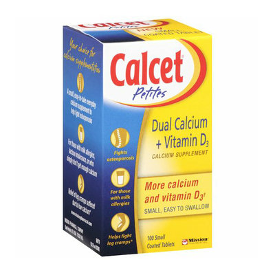 Calcet For Low-Calcium Leg Cramps Dietary Supplement