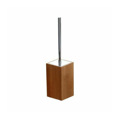 Gedy By Nameeks Gedy PO33-35 Bamboo Finish Toilet Brush