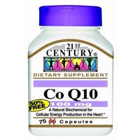 21st Century Co Q10 100 Mg Capsules, 75-Count
