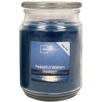 Mainstays 20 oz Candle, Peaceful Waters