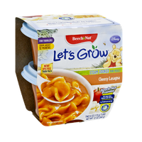 Beech-Nut® Let's Grow Cheesy Lasagna Steam Cooked Mini Meals for Toddlers