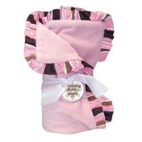 Trend Lab Ruffle Maya Stripe Blanket