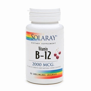 Solaray Vitamin B-12 2000 mcg