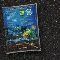 Worldwide Imports AWWA10741 2-Piece Live Aragonite Sand, 20-Pound, Black