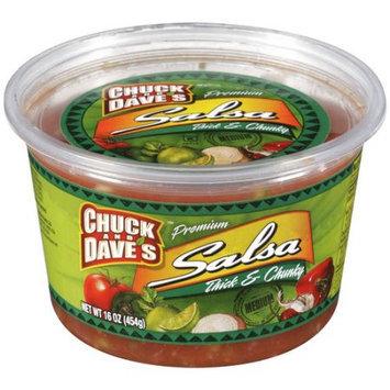 Kellogg Chuck And Dave's Premium Thick & Chunky Medium Salsa, 16 oz