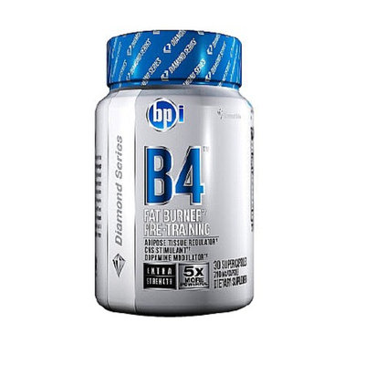 BPI B4 Fat Burner Pre-Training, Capsules, 30 ea