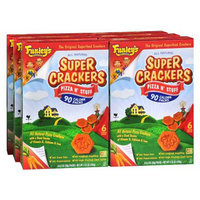 Funley's Delicious Super Crackers Superfood Crackers Pizza n' Stuff,6 Pack