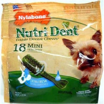 Tfh/nylabone Nylabone Daily Dental Curve Bacon Flavor X-Small