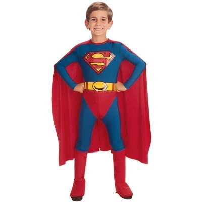 Dc Comics Classic Superman Costume - Medium by DC Comics