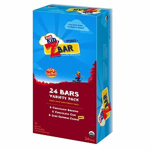 Clif Kid Z Bar, Chocolate Chip, Choc Brownie, Iced Oatmeal Cookie Variety Pack