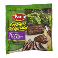 Tyson Grilled & Ready Seasoned Steak Strips
