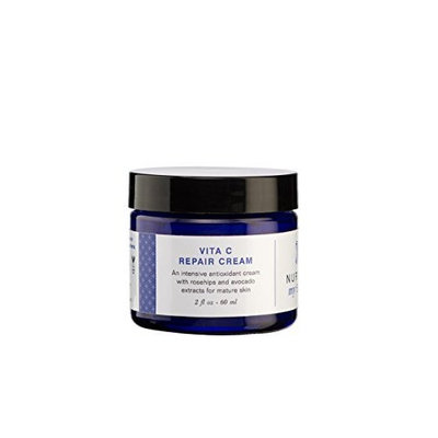 Organic Vitamin C Cream by Nurture My Body - Fragrance Free - Reverse Aging and Wrinkles on Dry, Mature & Sensitive Skin and Face - 100% Satisfaction GUARANTEED!
