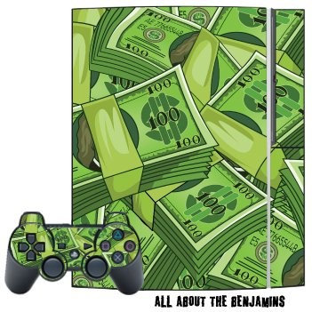 Mightyskins SONY PSP Skin Skins Decal Protective Kit - All About The Benjamins