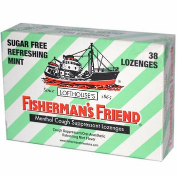 Fishermans Friend Menthol Cough Suppressant Lozenges Sugar Free Refreshing Mint 6 Pack