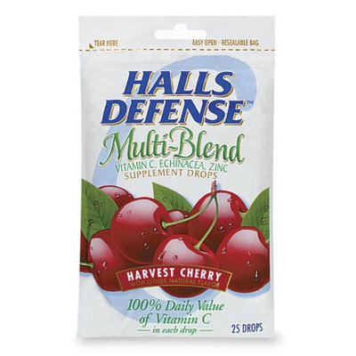 HALLS Defense Multi-Blend Supplement Drops