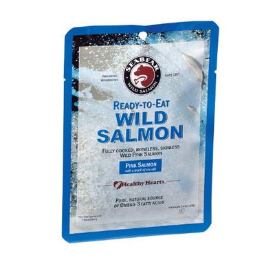 SeaBear Ready-to-Eat Pink Salmon, 3.5 Ounce Unit