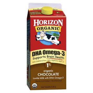 Horizon Organic Chocolate 1 % Milk with DHA Omega-3 64 oz