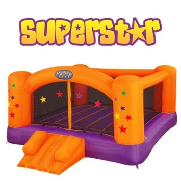 Blast Zone Superstar Moonwalk Bounce House Ages 3+