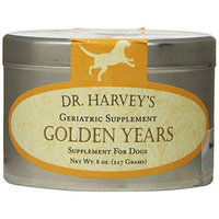 Dr. Harvey's Golden Years Herbal Supplement for Senior Dogs, 8-Ounce Tin